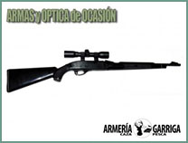 Carabina Remington con VISOR